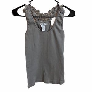 Connection 18 Ribbed Tank Top Size S/M